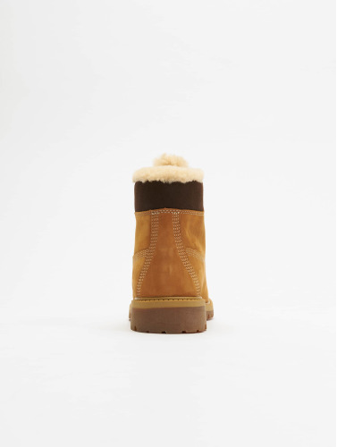 Timberland Damen Boots 6 In Premium Waterproof Shearling Lined in beige