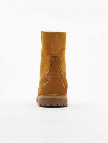 Timberland Damen Boots Authentics Teddy Fleece Waterproof in beige