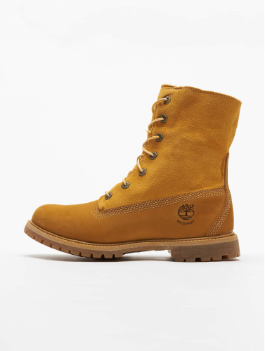 Timberland Mujeres Boots Authentics Teddy Fleece Waterproof in beis