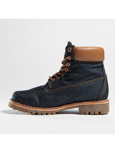 Timberland Herren Boots Heritage 6 Fabric in blau