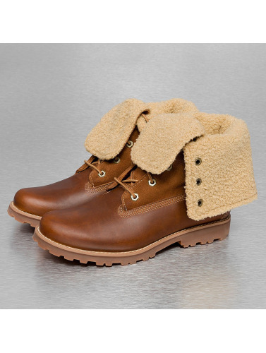 Timberland Damen Boots Authentics 6 In Shearling in braun