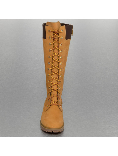 Timber Mujeres Bota Earthkeepers Premium 14 Tommers Glidelås I Beis nye lavere priser nYdo7
