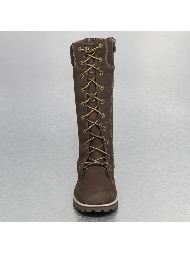 Timberland Mujeres Bota Asphalt Trail Classic Tall Lace-Up in marrón