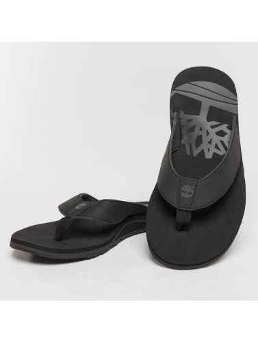 Timberland Hombres Chanclas / Sandalias Wild Dunes Synth Thong in negro