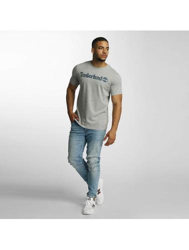 Timberland Herren T-Shirt Dustan River Camo Print in grau