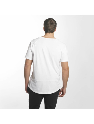 Timberland Herren T-Shirt Camo Logo Linear And Tree in weiß