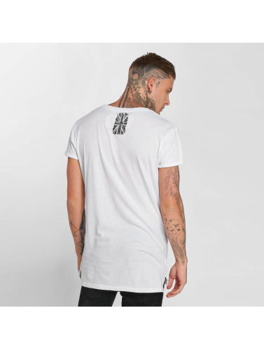 trueprodigy Hombres Camiseta Great Maori in blanco