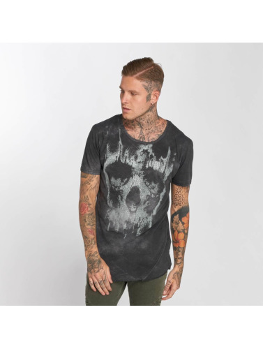 trueprodigy Hombres Camiseta Pay For The Skull in gris
