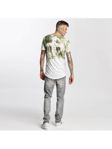 trueprodigy Hombres Camiseta Skull in verde