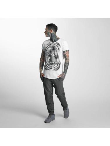 trueprodigy Herren T-Shirt Like It Rough in weiß