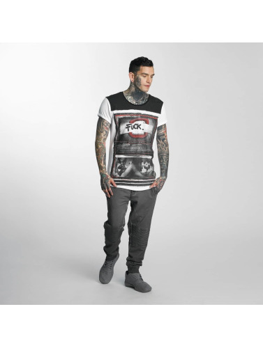 trueprodigy Herren T-Shirt Yolo in weiß