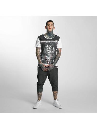 trueprodigy Herren T-Shirt Lionhead in weiß