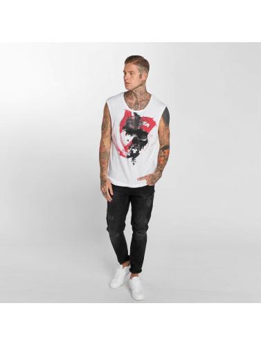 Trueprodigy Hombres Tank Topper Jackson In Blanco ebay billig online zjSZTsc