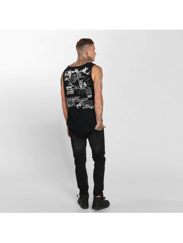 trueprodigy Hombres Tank Tops Stay Cool in negro