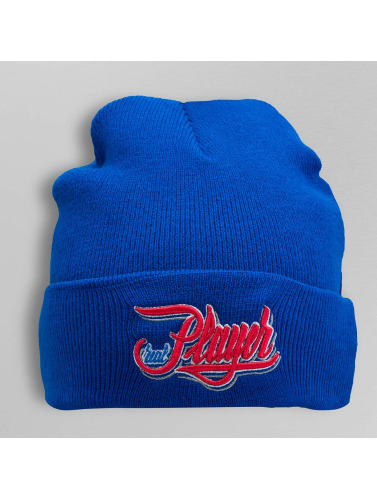 TrueSpin Beanie Splatter Player in blau