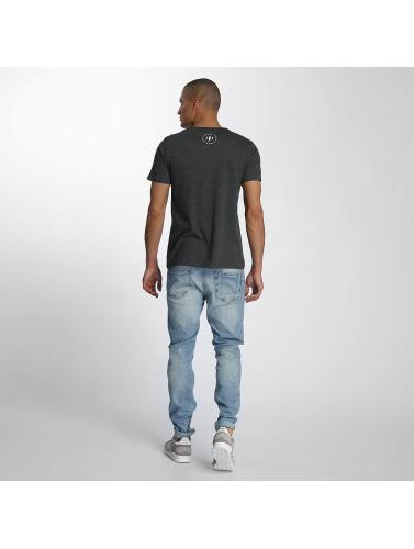 TrueSpin Hombres Camiseta 8 in gris