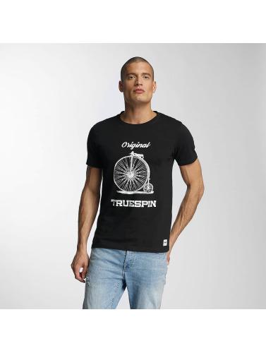 TrueSpin Hombres Camiseta 6 in negro