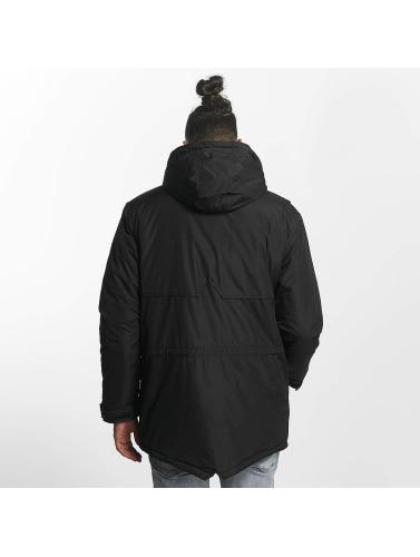 TrueSpin Hombres Chaqueta de invierno Fishtail in negro