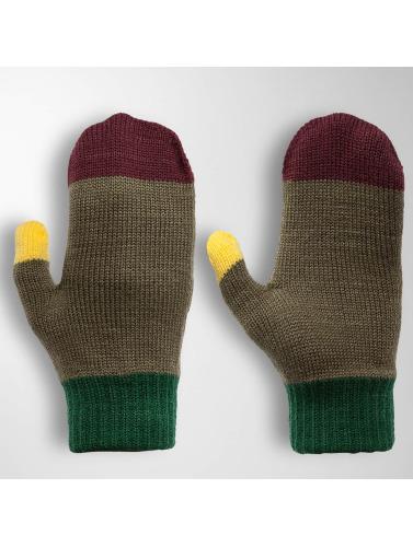 TrueSpin Handschuhe Mittens in olive