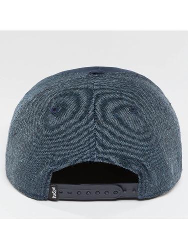 TrueSpin Snapback Cap New Velevet in blau