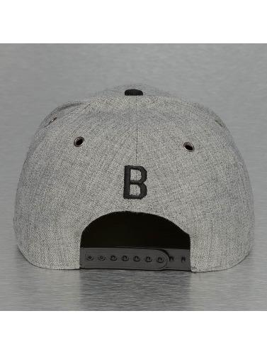 TrueSpin Snapback Cap ABC-B Wool in grau