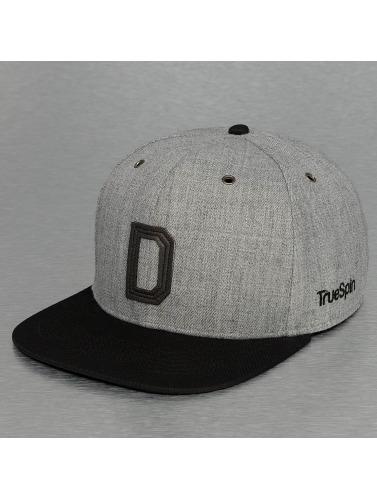 TrueSpin Snapback Cap ABC-D Wool in grau