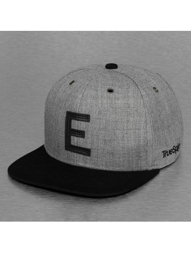TrueSpin Snapback Cap ABC-E Wool in grau
