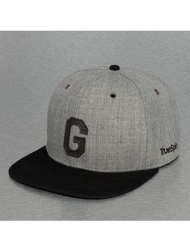 TrueSpin Snapback Cap ABC-G Wool in grau