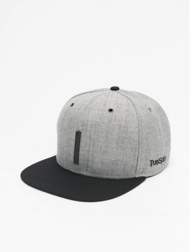 TrueSpin Snapback Cap ABC-I Wool in grau