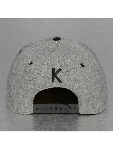 TrueSpin Snapback Cap ABC-K Wool in grau