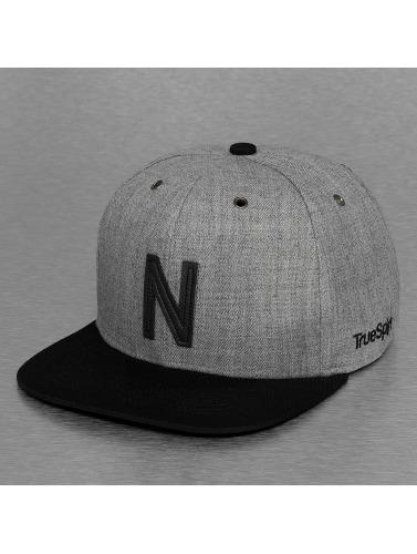 TrueSpin Snapback Cap ABC-N Wool in grau
