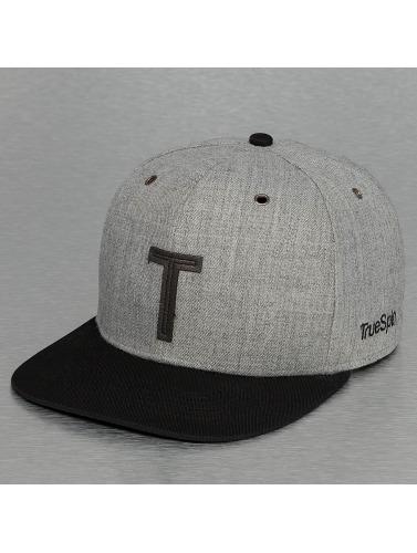 TrueSpin Snapback Cap ABC-T Wool in grau