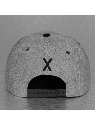 TrueSpin Snapback Cap ABC-X Wool in grau