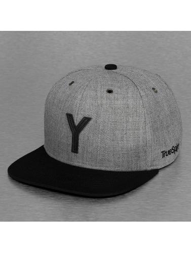 TrueSpin Snapback Cap ABC-Y Wool in grau