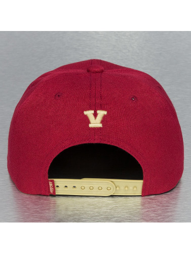 TrueSpin Snapback Cap ABC Edition in rot