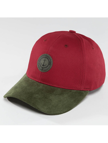 TrueSpin Snapback Cap Anker in rot