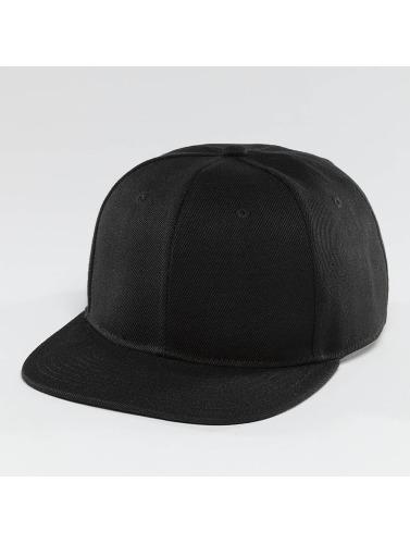 TrueSpin Snapback Cap Blank in schwarz