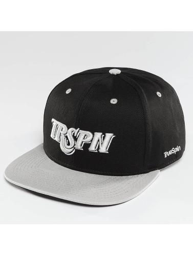 TrueSpin Snapback Cap Team TRSPN in schwarz