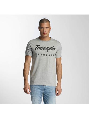 TrueSpin Herren T-Shirt 7 in grau