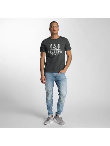 TrueSpin Herren T-Shirt 8 in grau