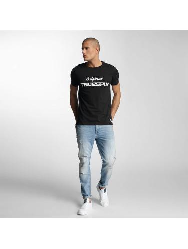 TrueSpin Herren T-Shirt 3 in schwarz
