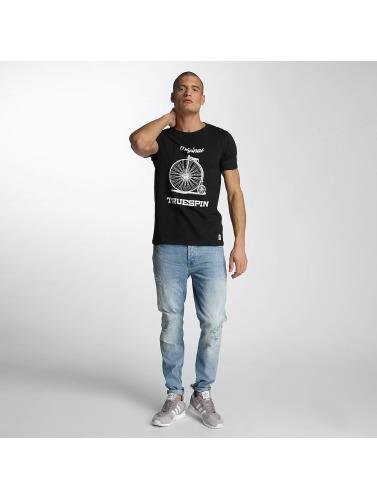 TrueSpin Herren T-Shirt 6 in schwarz