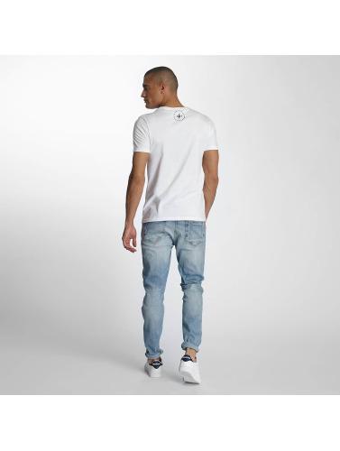 TrueSpin Herren T-Shirt 7 in weiß