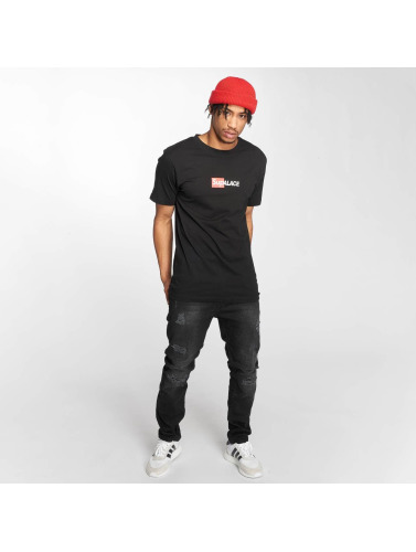 TurnUP Hombres Camiseta Collab 2.0 in negro