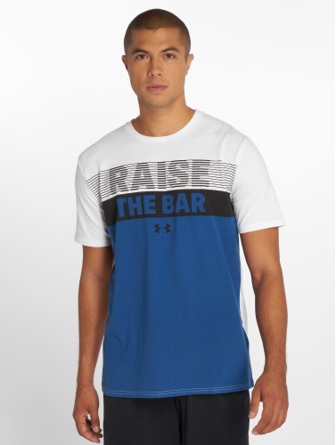 Under Armour Hombres Camiseta Raise the Bar in blanco