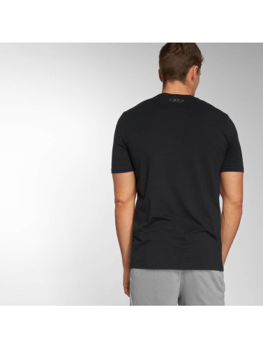 Under Armour Hombres Camiseta Boxed Sportstyle in negro