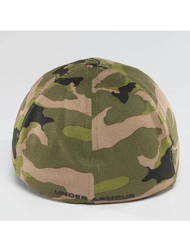 Under Armour Flexfitted Cap AirVent in grün
