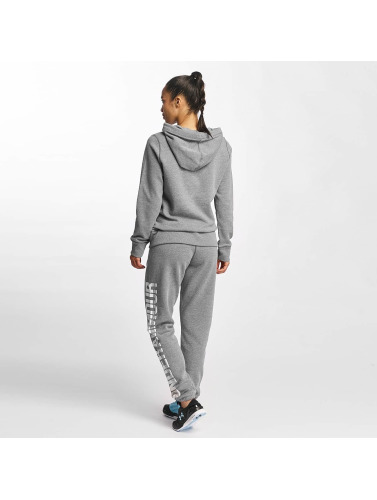 Under Armour Damen Hoody Favorite Fleece Wordmark in grau