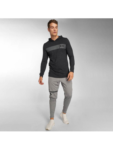 Under Armour Hombres Sudadera Sportstyle Core in negro