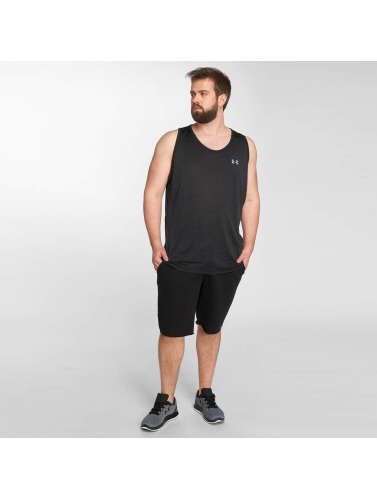 Under Armour Hombres Tank Tops Tech in negro